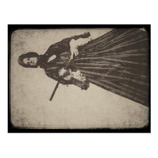 Carte Postale la veuve