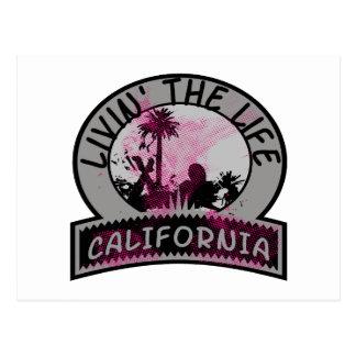 Carte Postale La vie de la Californie