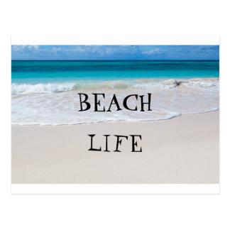 Carte Postale La vie de plage