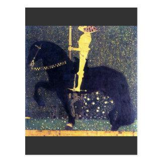 Carte Postale La vie d'une lutte (les chevaliers d'or) - Klimt