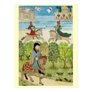 Carte Postale La vie en joyeuse Angleterre, scène de la vie