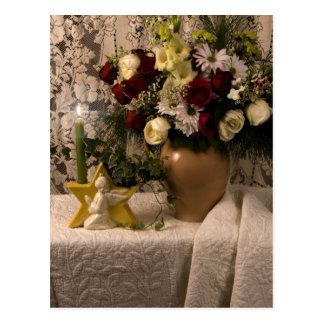 Carte Postale La vie florale de vase à 2162 anges toujours