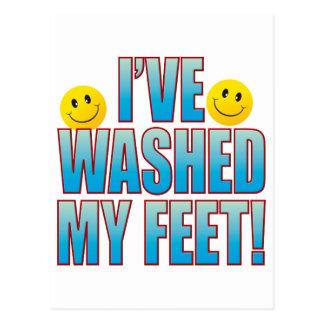 Carte Postale La vie lavée B de pieds