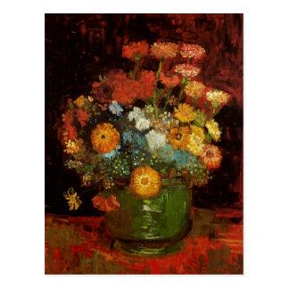 Carte Postale La vie toujours avec des beaux-arts de Van Gogh de