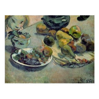 Carte Postale La vie toujours avec le fruit, 1888