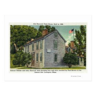 Carte Postale La vieille vue de Chambre de Hancock Clark, Paul