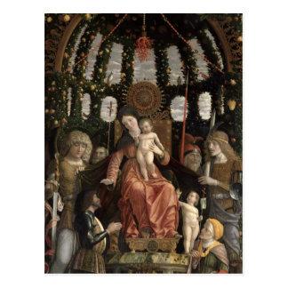 Carte Postale La Vierge de la victoire ou Madonna et l'enfant