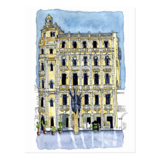 Carte Postale La villa de Gomez dans la plaza Vieja, vieux