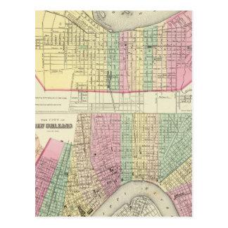 Carte Postale La ville de Louisville Kentucky