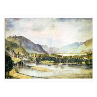 Carte Postale La ville de Trento par Albrecht Durer