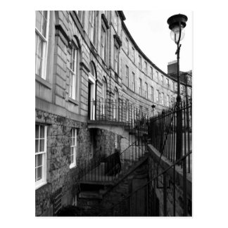 Carte Postale La ville nouvelle d'Edimbourg