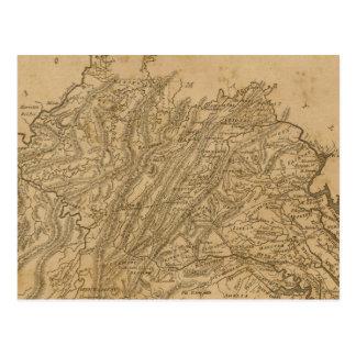 Carte Postale La Virginie