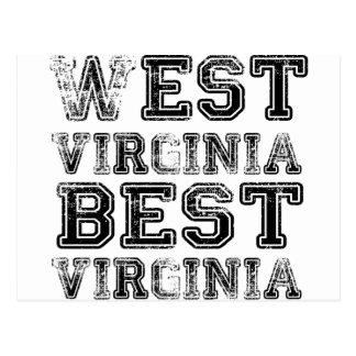 Carte Postale La Virginie Occidentale la meilleure Virginie