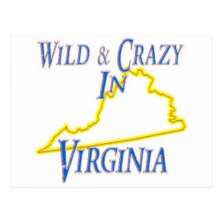 Carte Postale La Virginie - sauvage et folle