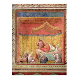 Carte Postale La vision de pape Gregory IX 1297-99