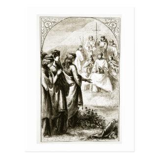 Carte Postale La vision du synode des ecclésiastiques, 'du Tria