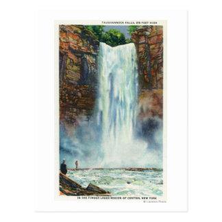 Carte Postale La vue de Taughannock tombe du fond