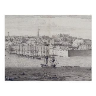 Carte Postale La vue du sud de Berwick sur le tweed, c.1743-45