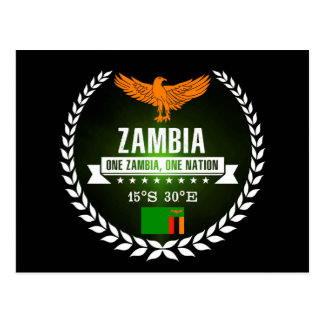 Carte Postale La Zambie
