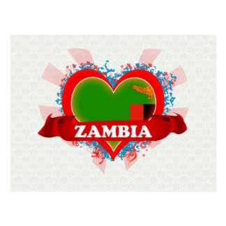 Carte Postale La Zambie d'amour du cru I