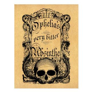 Carte Postale L'absinthe très amère d'Ophélie