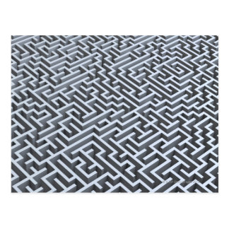 Carte Postale Labyrinthe