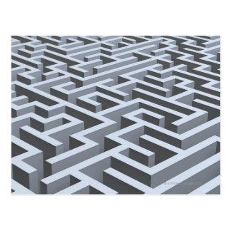 Carte Postale Labyrinthe 3