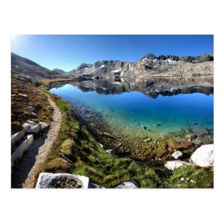 Carte Postale Lac 1 Wanda - traînée de John Muir