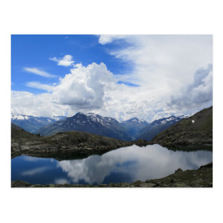 Carte Postale Lac alpin