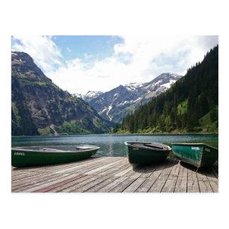 Carte Postale Lac alpin