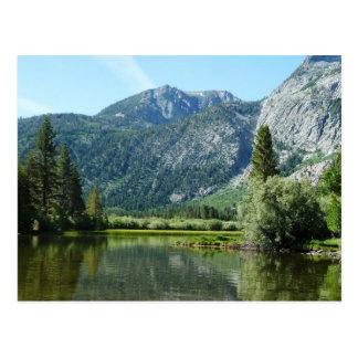 Carte Postale Lac argenté