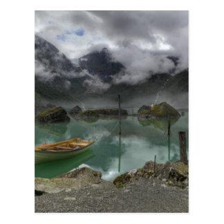 Carte Postale Lac Bondhus Norvège