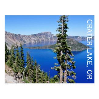 Carte Postale Lac crater, Orégon