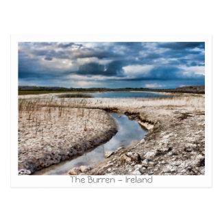 Carte Postale Lac dans le Burren