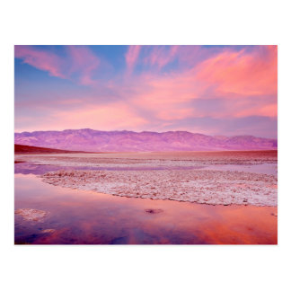 Carte Postale Lac Death Valley water