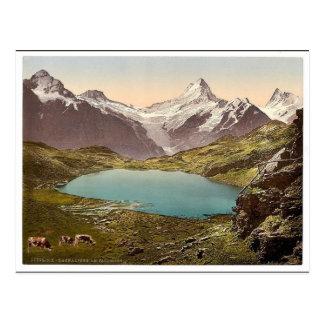 Carte Postale Lac et Faulhorn, Bernese Oberland, Suisse v