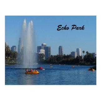 Carte Postale Lac park d'écho - visibilité directe Angeles