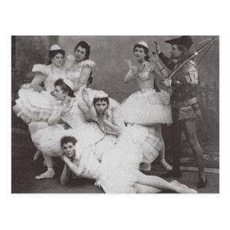 Carte Postale Lac swan, théâtre de Mariinsky, 1895 (photo de