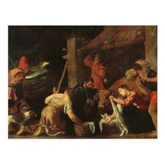 Carte Postale L'adoration des bergers 2