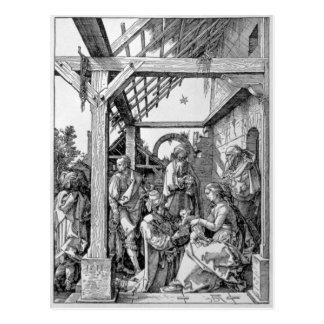 Carte Postale L'adoration des Magi, 1511