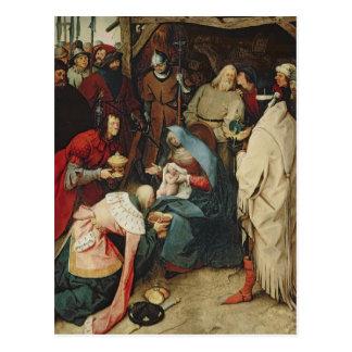 Carte Postale L'adoration des rois, 1564