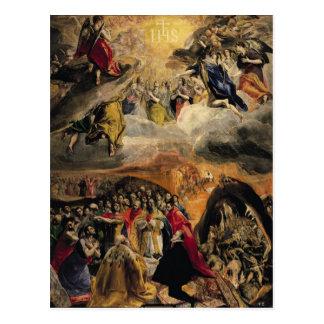 Carte Postale L'adoration du nom de Jésus, c.1578
