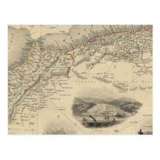 Carte Postale L'Afrique du nord