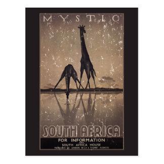Carte Postale L'Afrique du Sud - affligée