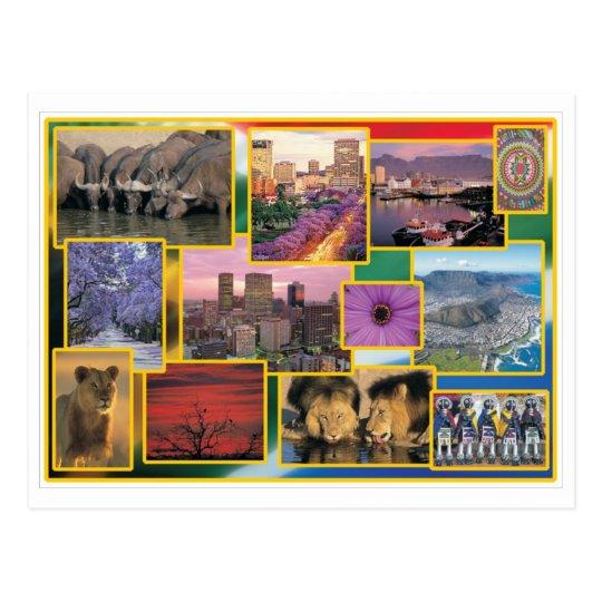 Carte Postale Afrique Du Sud.Carte Postale L Afrique Du Sud Ensoleillee