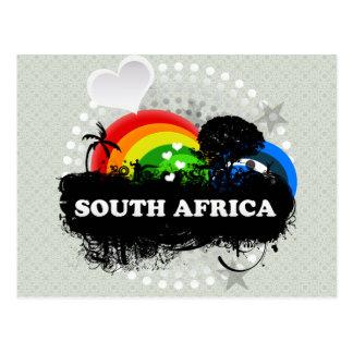 Carte Postale L'Afrique du Sud fruitée mignonne