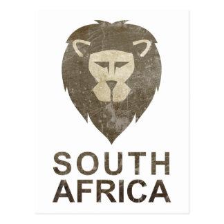 Carte Postale L'Afrique du Sud vintage