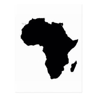Carte Postale L'Afrique fière