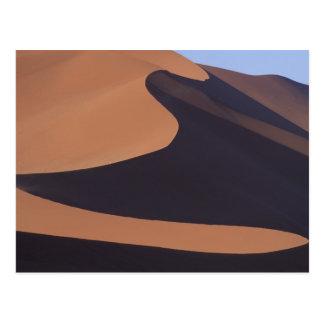 Carte Postale L'Afrique, Namibie, désert de Namib. Sossusvlei.