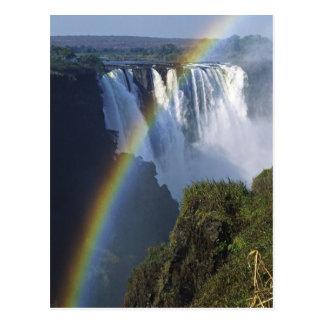 Carte Postale L'Afrique, Zimbabwe, les chutes Victoria